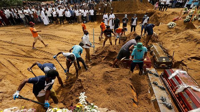 מתקפת טרור בנגומבו סרי לנקה (צילום: רויטרס)