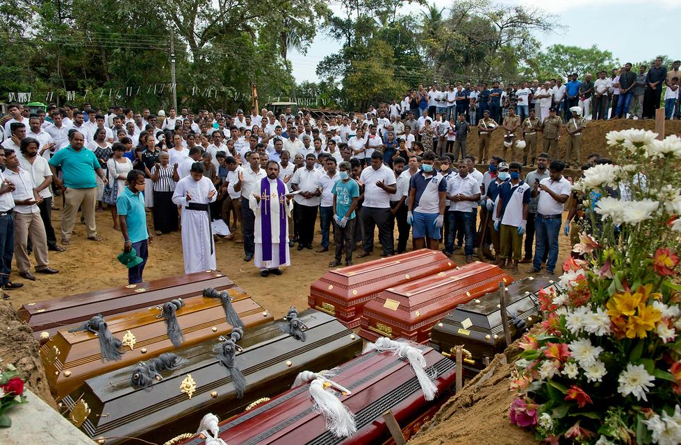 מתקפת טרור בנגומבו סרי לנקה (צילום: AP)