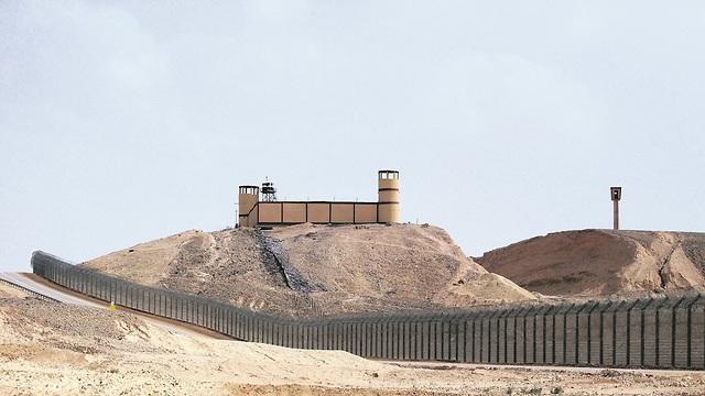 הגדר על גבול ישראל מצרים (צילום: שאול גולן)
