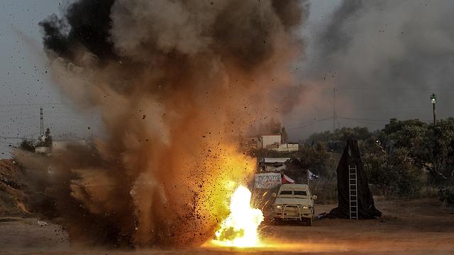 Удар по Газе. Фото: ЕРА