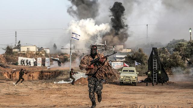 Боевик в Газе. Фото: ЕРА