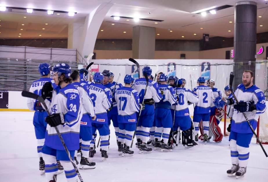 Сборная Израиля. Фото: федерация хоккея