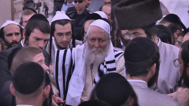 Convicted sex offender Rabbi Eliezer Berland  (Photo: Meshi Ben Ami)