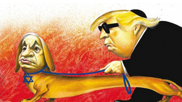 Anti-Semitic cartoon from the New York Times