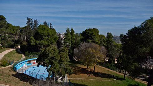 המדשאות ייכחדו לטובת אחוזי הבנייה (צילום: איתי סיקולסקי)