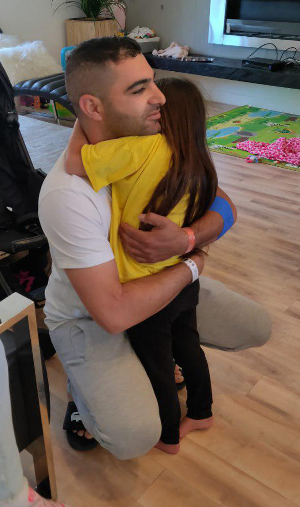 Noya Dahan and Almog Peretz (Photo: Tzipi Shmilovich)