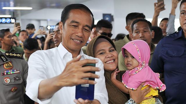 נשיא אינדונזיה ג'וקו ווידובו  (צילום: AFP)