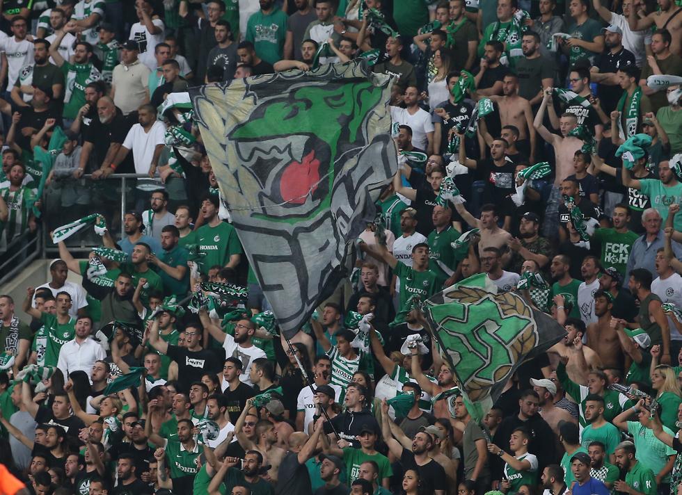 אוהדי מכבי חיפה (צילום: אורן אהרוני)