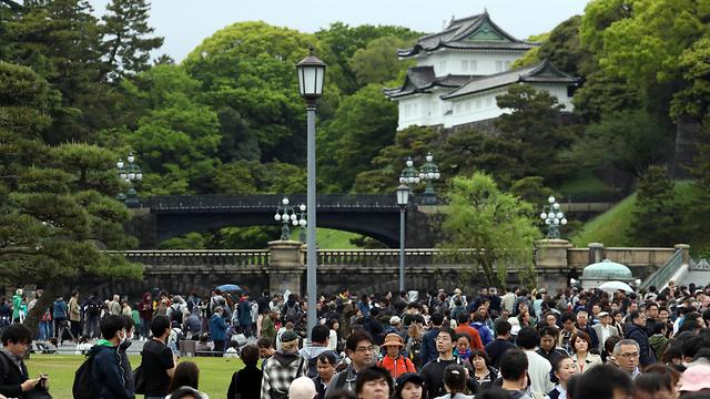 הקיסר אקיהיטו פורש טקס פרישה יפן טוקיו (צילום: EPA)