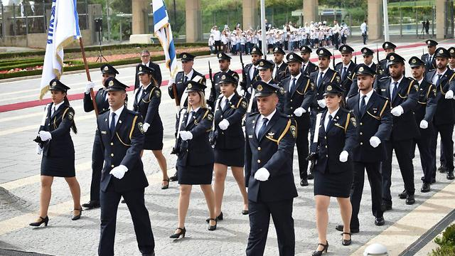 A parade during the opening ceremony of the 21st Knesset (Photo: Yoav Dudkevitch)