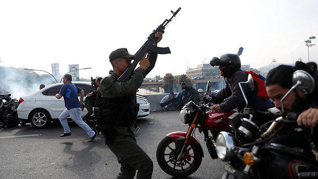 חיילים ונצואלה (צילום: רויטרס)