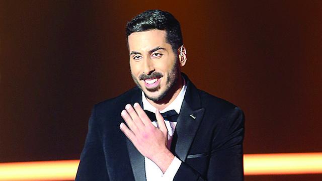 קובי מרימי נציג ישראל באירוויזיון (צילום: אלכס קולומויסקי)