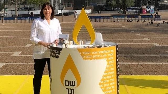 ואלישה יעקובי מייסדת עמותת שם ונר לזכר ניצולי השואה ()