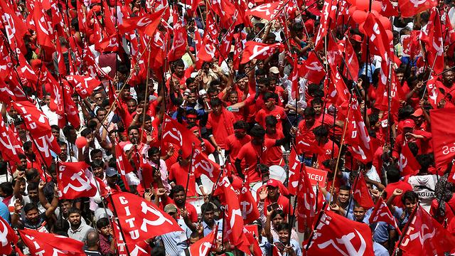 חג הפועלים 1 הודו בנגלור (צילום: EPA)