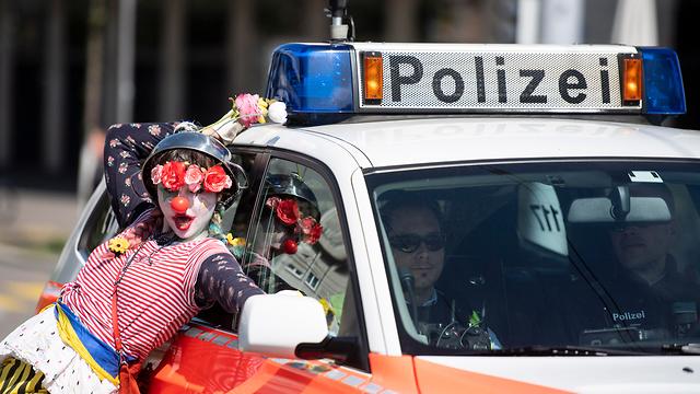 חג הפועלים 1 שווייץ ציריך (צילום: EPA)