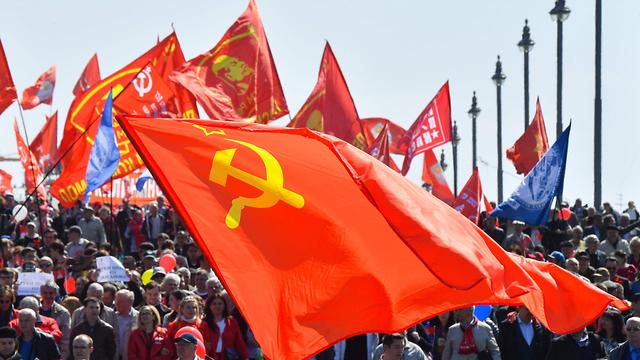 חג הפועלים 1 במאי רוסיה מוסקבה הכיכר האדומה (צילום: AFP)