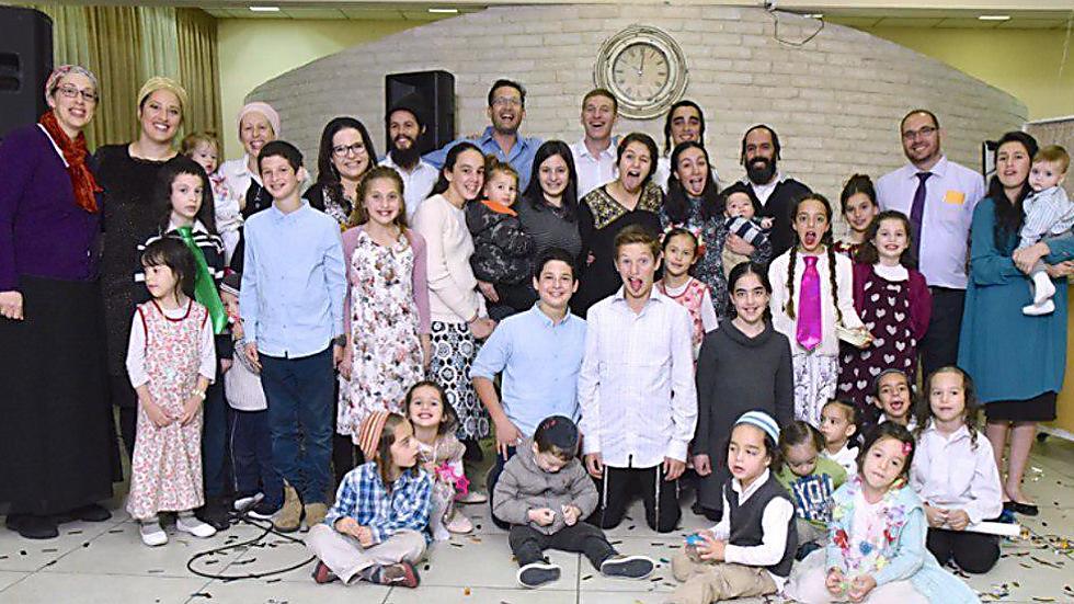 יעל רשף ומשפחתה ()