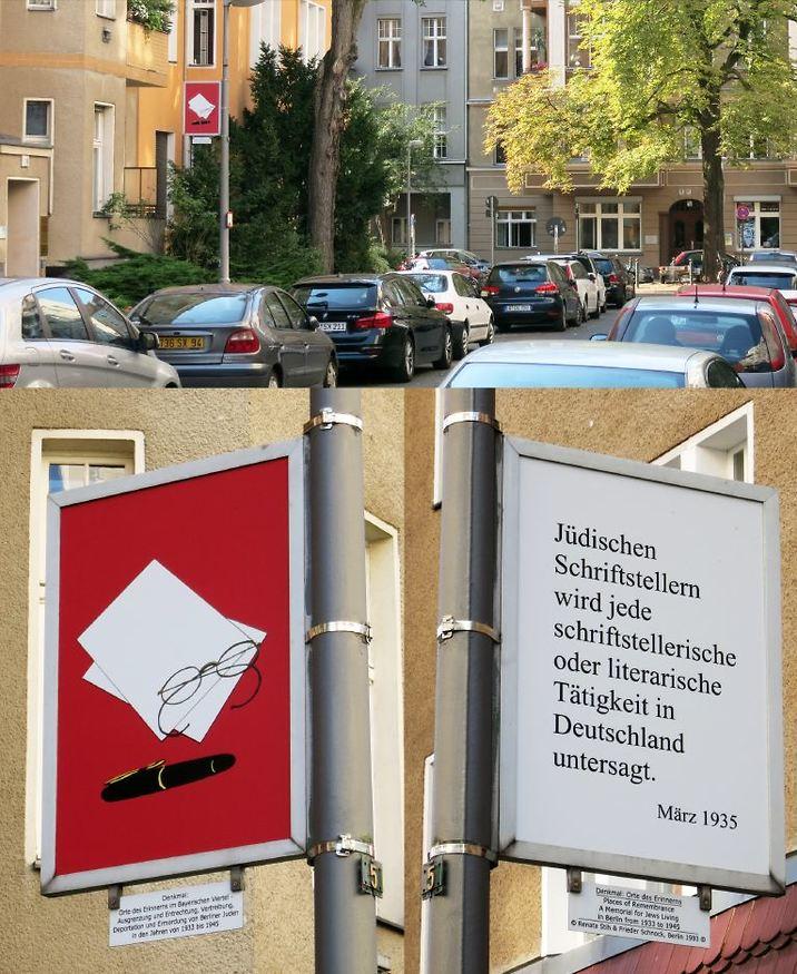 מרץ 1935: על סופרים יהודים לחדול מכל פעילות בגרמניה. (צילום באדיבות Renata Stih & Frieder Schnock, Berlin 2019 - ARS, NYC)