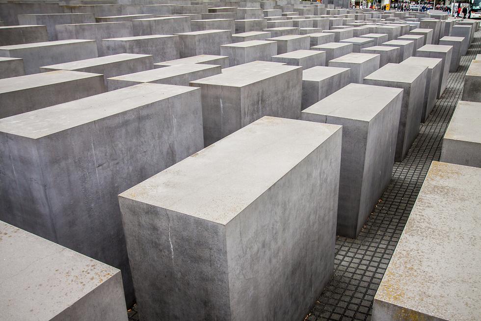 אנדרטת השואה בברלין (צילום: shutterstock)