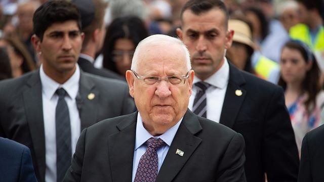 President Reuven Rivlin (Photo: Yoav Dudkevitch)