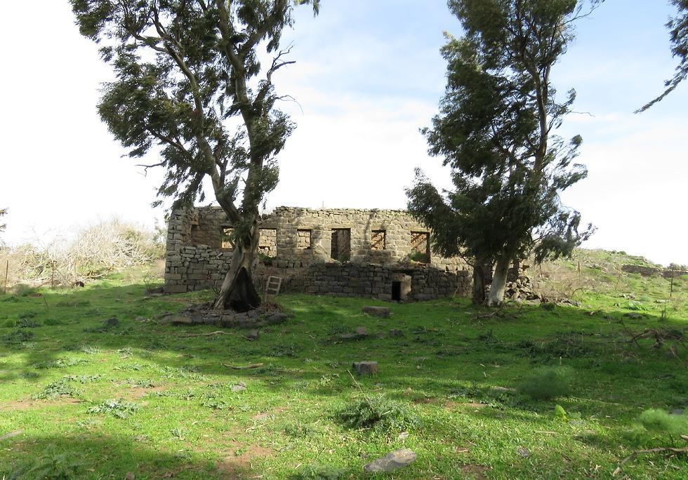 מבנה בחורבת פרג (צילום: נעמה מנספלד, רשות הטבע והגנים)
