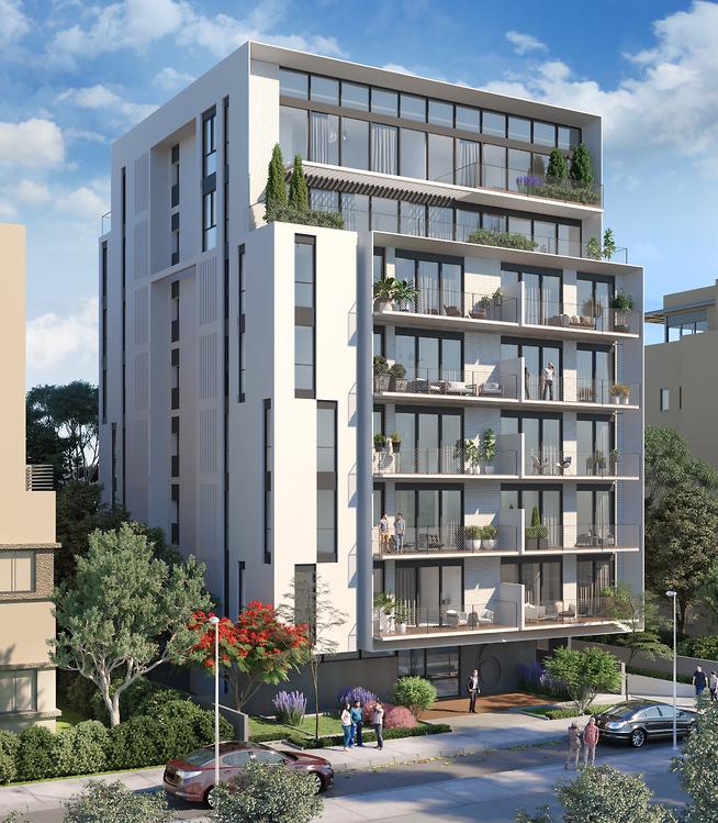 פרויקט פינלס 6 תל אביב | גל מרום אדריכלים (באדיבות דמרי - גלים)