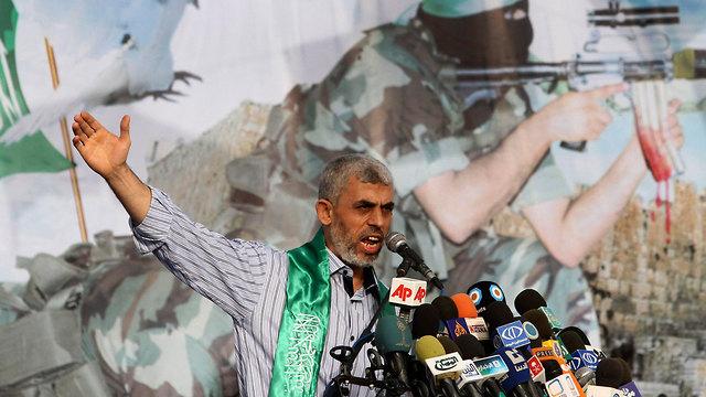 Le chef du Hamas Yahya Sinwar à Gaza (Photo: AP)