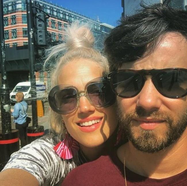 Марина Максимилиан с супругом. Фото: инстаграм