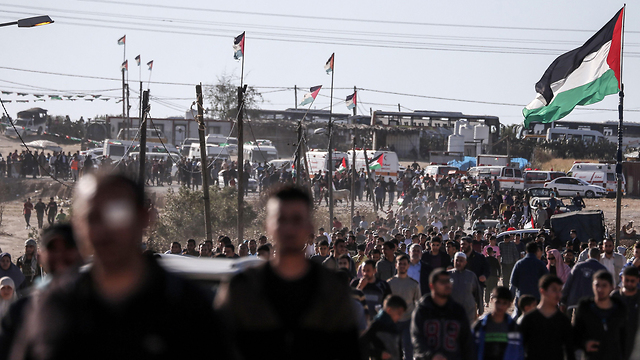 March of Return protests on Friday (Photo: AFP)