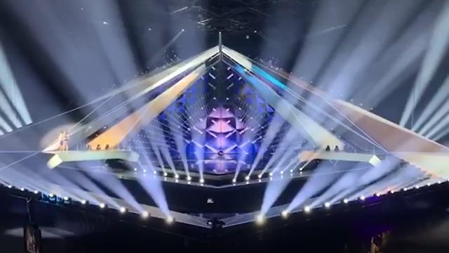 Tel Aviv's Eurovision stage