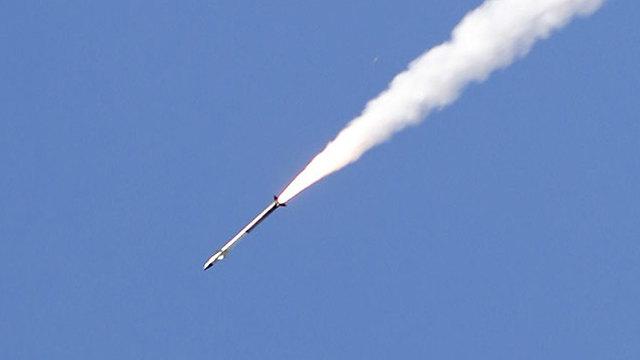 Ракета из Газы. Фото: AFP