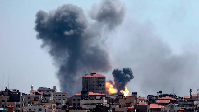 The IDF strikes Gaza (Photo: AFP)