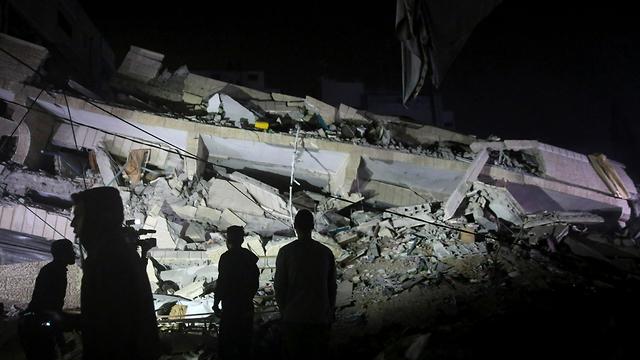 Разрушенный дом боевика в Газе. Фото: АР