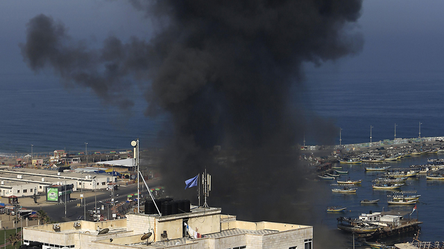 IDF bombing of Hamas terror targets (Photo: AFP)