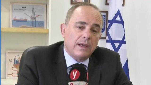 Yuval Steinitz talks to Ynet, May 12, 2019  (Photo: Gil Yohanan)