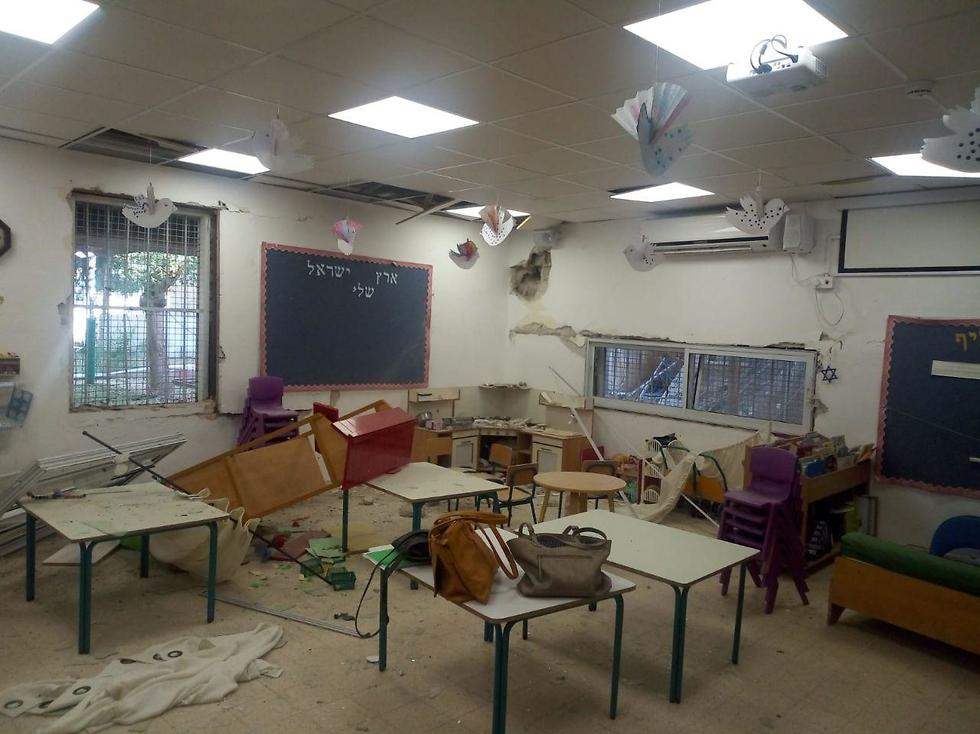 פגיעה בגן ילדים בשדרות ()