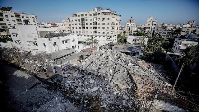 Gaza aftermath of Israeli bombing (Photo: EPA)