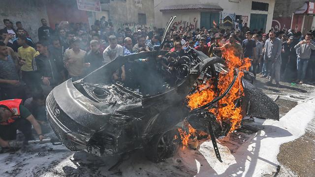 Ликвидация боевика ХАМАСа в Газе. Фото: AFP