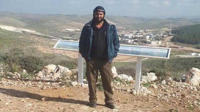 Bedouin Israeli Ziad Alhamamda was by a Gaza rocket this week