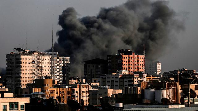 IDF strike in Gaza (Photo: AFP)