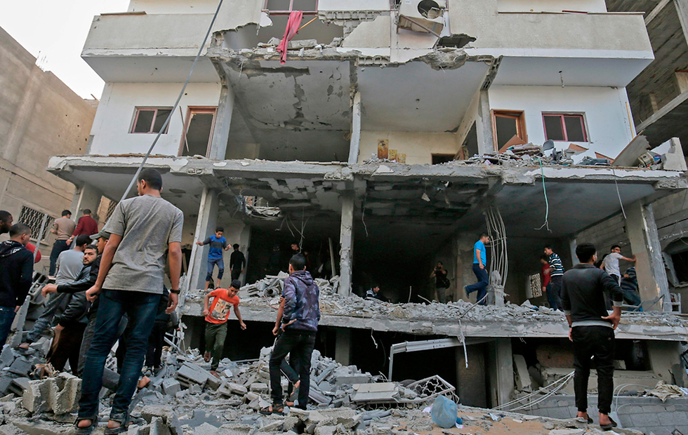The aftermath of IDF strikes in Gaza (Photo: AFP)