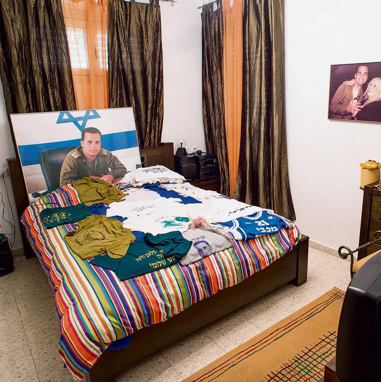 """""""הפכנו את הדירה לאתר מורשת"""". החדר של שלומי כהן   צילום: יובל חן"""