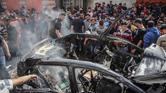 После точечной ликвидации в Газе. Фото: EPA