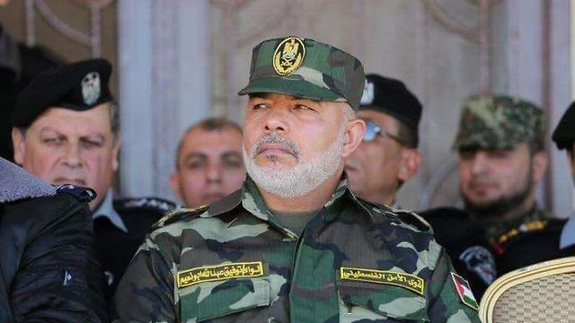 Le chef des services de sécurité du Hamas à Gaza, Tawfiq Abu Naim
