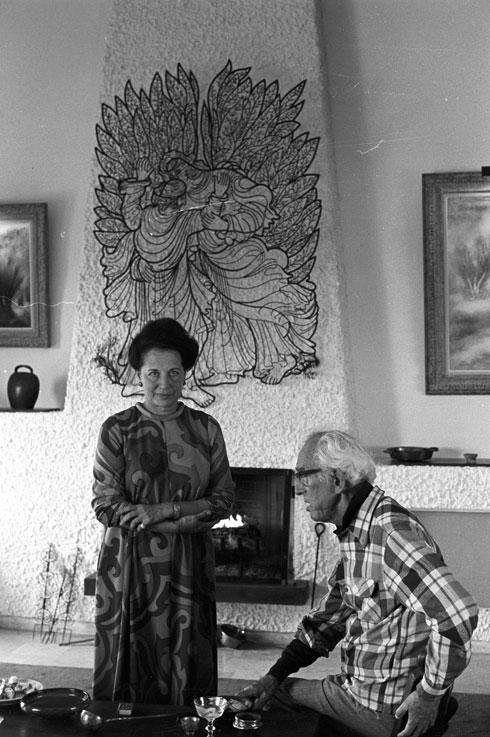 ''תכנון הבית היה לשנינו חוויה יצירתית ומהנה, שהעסיקה אותנו ימים רבים''  (צילום: דוד רובינגר)