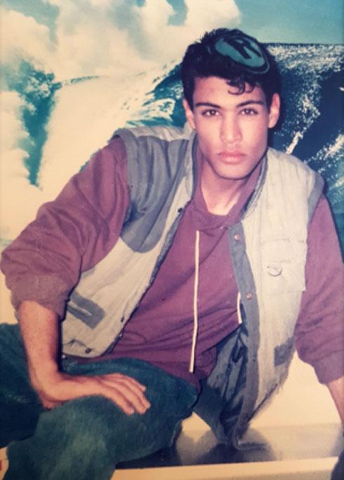 """האח אמיתי קאפח ז""""ל, שנהרג בפיגוע (צילום: אלבום פרטי)"""