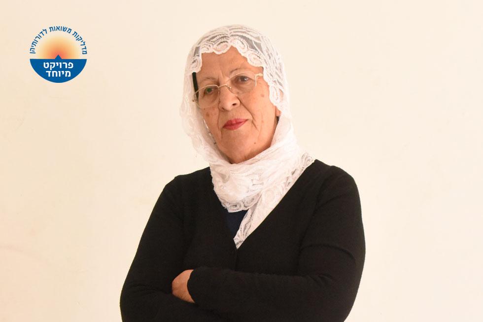 """הינדיה סולימן. """"לא הפריע לי להגיד 'ולתפארת מדינת ישראל', אני ישראלית וישראל לא שייכת רק ליהודים, אלא גם לערבים"""" (צילום: אביהו שפירא)"""