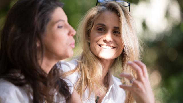 פריידי מרגלית וזוגתה (צילום: מילי סדנאות השראה וצילום)