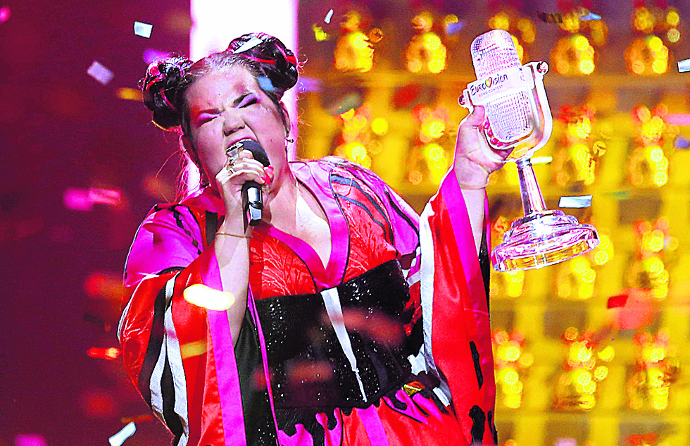 Last year's Eurovision winner Netta Barzilai (Photo: AP)