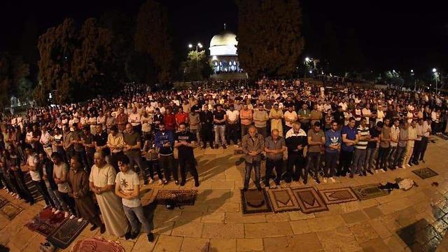 Ramadan Prayers at Temple Mount